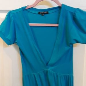 Just Love Dresses - 💙🍬so cute V neck tee shirt dress